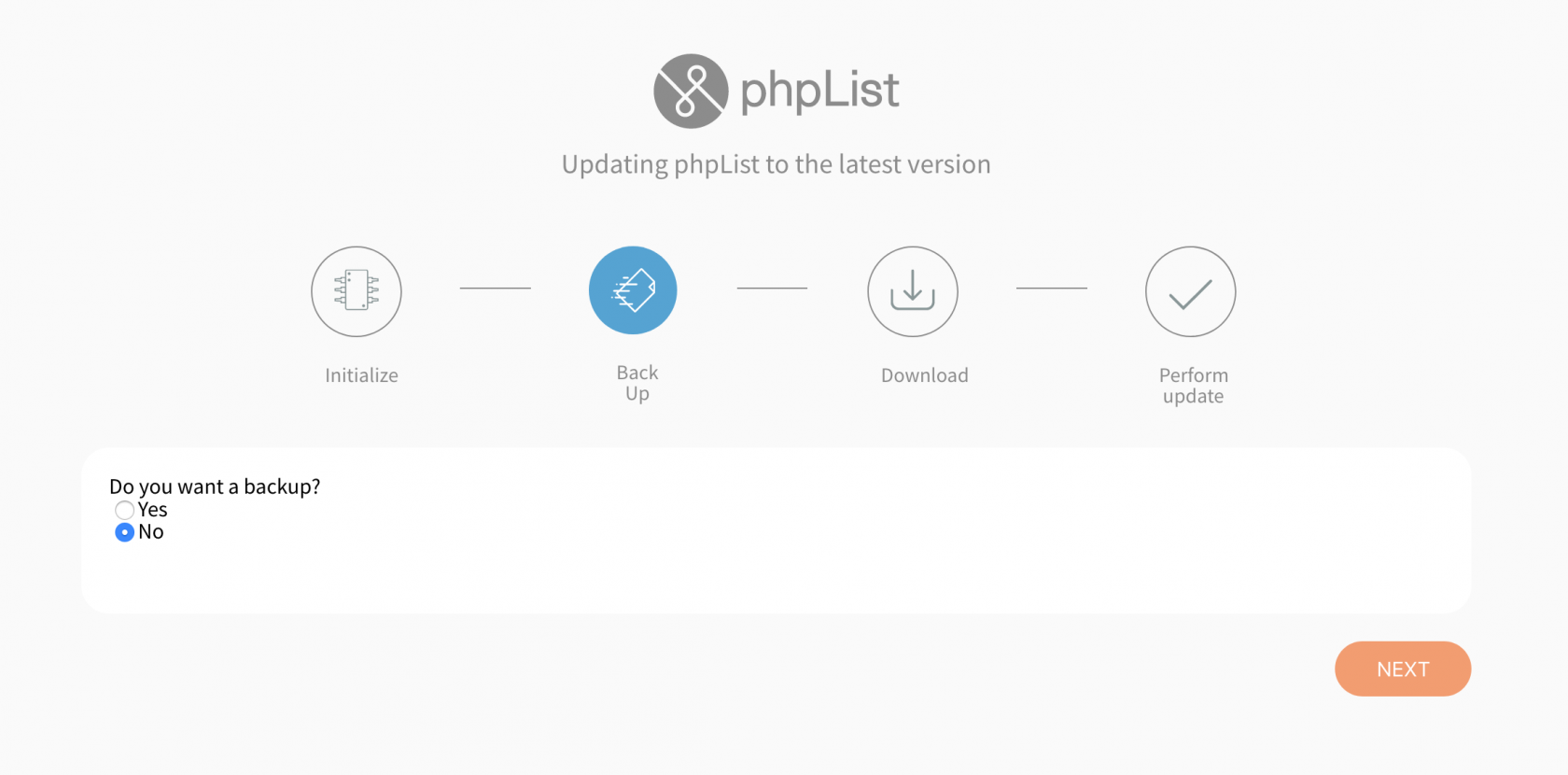 phpList_automatic_updater_no_back_up.png