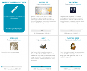 Open Funding launch new projects with the help of free phpList newsletter