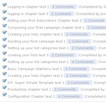 tasks done