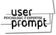 user prompt logo