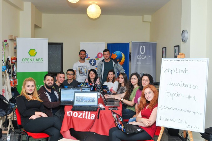 phpList localisation sprint albania