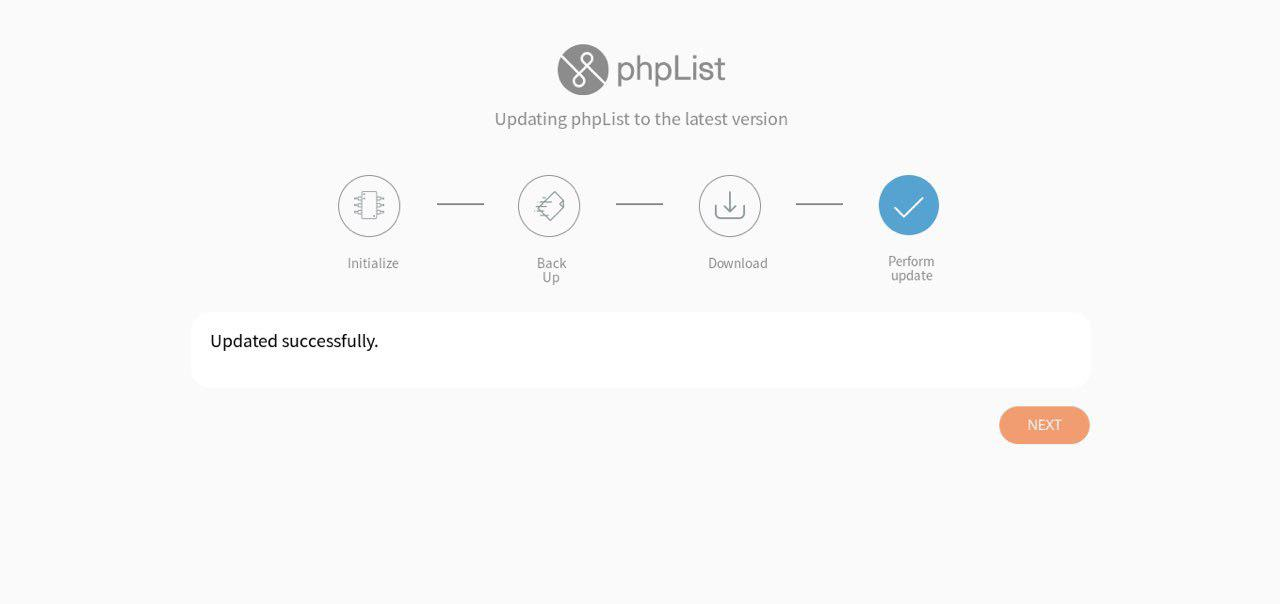 phpList 3 3 7 released: new Automatic Updater, 3 features, 5