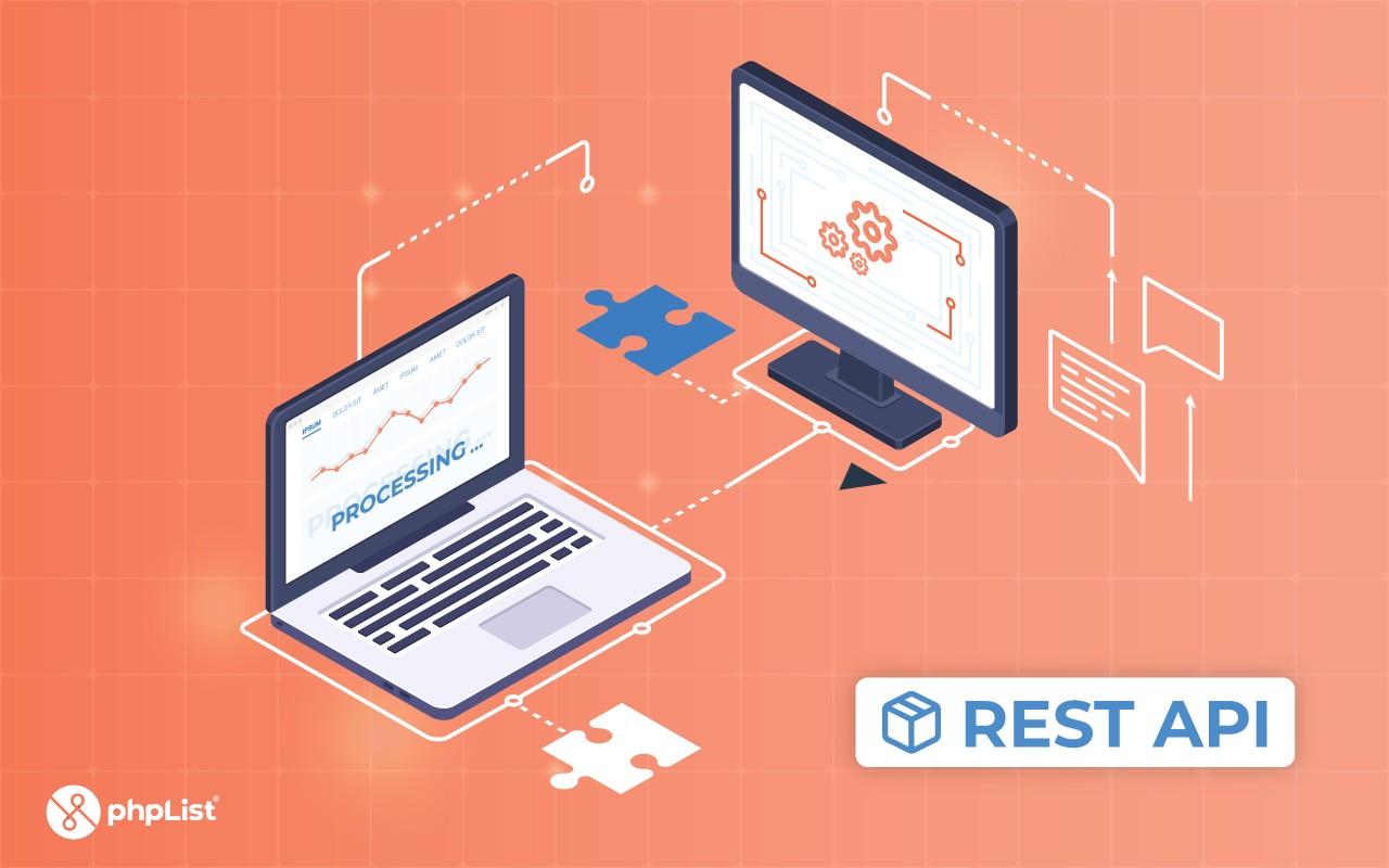 Illustration of the new phpList REST API
