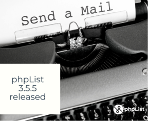phpList 3.5.5